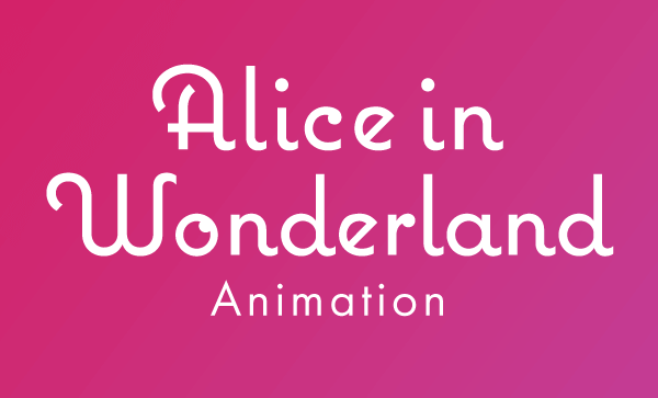 Alice in Wonderland Animation